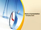 Consulting: ランニングクロック - PowerPointテンプレート #05852