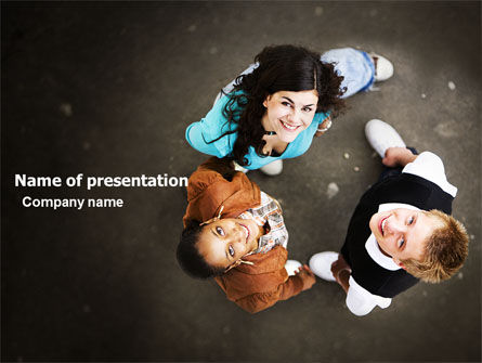People: Youth PowerPoint Template #05853