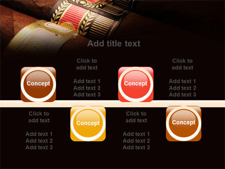 Cigars PowerPoint Template Slide 18