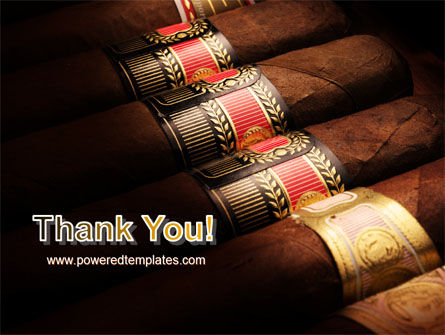 Cigars PowerPoint Template Slide 20