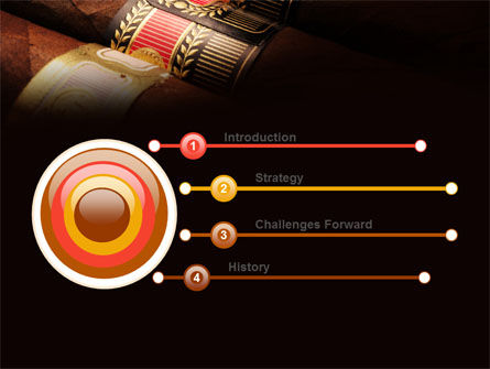 Cigars PowerPoint Template Slide 3