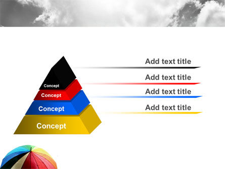 Rainbow Umbrella PowerPoint Template Slide 12
