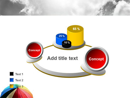 Rainbow Umbrella PowerPoint Template Slide 16