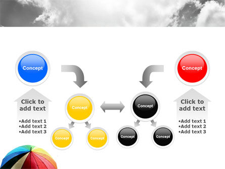 Rainbow Umbrella PowerPoint Template Slide 19