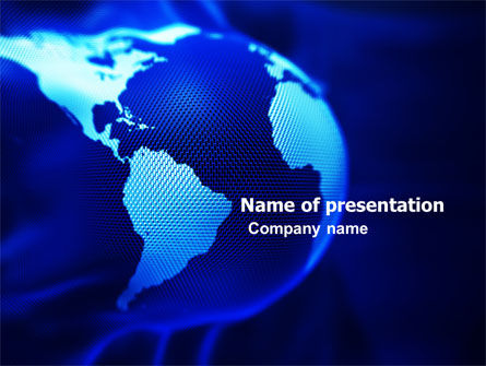 Global: World Collage PowerPoint Template #05864