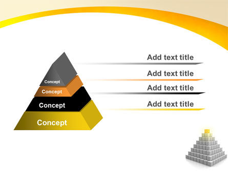 Pyramid PowerPoint Template, Slide 4, 05865, Business Concepts — PoweredTemplate.com