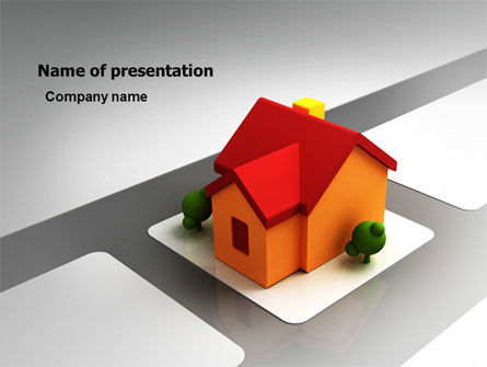Planning For Building Suburb PowerPoint Template, 05866, Construction — PoweredTemplate.com