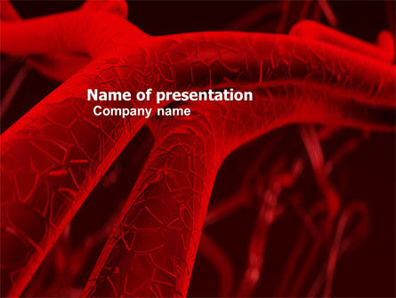 Medical: Arteries PowerPoint Template #05868