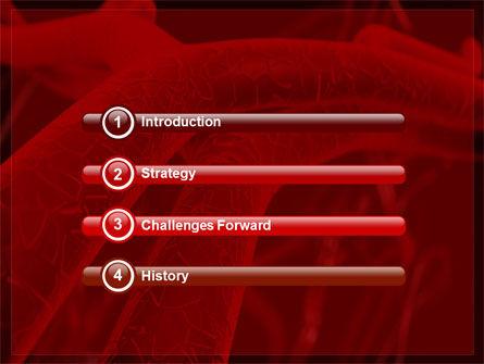 Arteries PowerPoint Template, Slide 3, 05868, Medical — PoweredTemplate.com