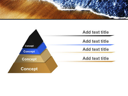 Sea Sand PowerPoint Template, Slide 4, 05870, Nature & Environment — PoweredTemplate.com
