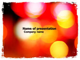 Abstract/Textures: Bokeh In Photo Free PowerPoint Template #05875