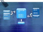 Film Strip In Blue Color PowerPoint Template#13