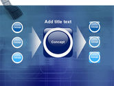 Film Strip In Blue Color PowerPoint Template#17