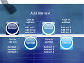 Film Strip In Blue Color PowerPoint Template#19