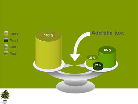 Money Tree In Pot PowerPoint Template Slide 10