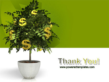 Money Tree In Pot PowerPoint Template Slide 20