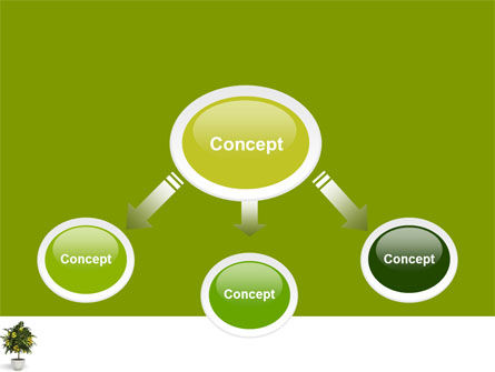 Money Tree In Pot PowerPoint Template Slide 4