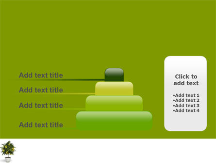 Money Tree In Pot PowerPoint Template Slide 8