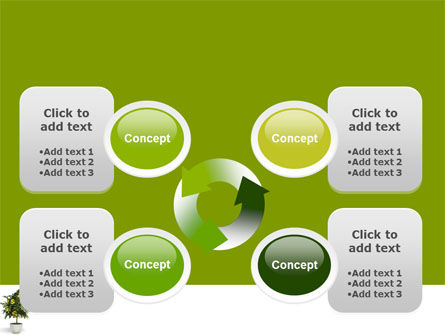 Money Tree In Pot PowerPoint Template Slide 9