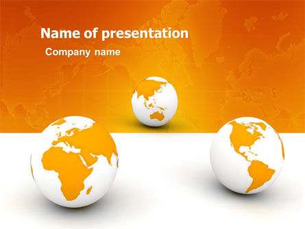 Different Worlds PowerPoint Template
