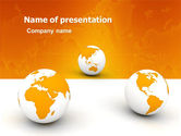 Global: Different Worlds PowerPoint Template #05880