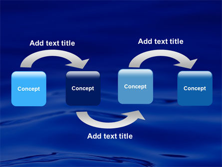 Sea Waves PowerPoint Template, Slide 4, 05881, Nature & Environment — PoweredTemplate.com