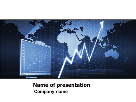 Consulting: Stock Market Jumping Rate PowerPoint Template #05883