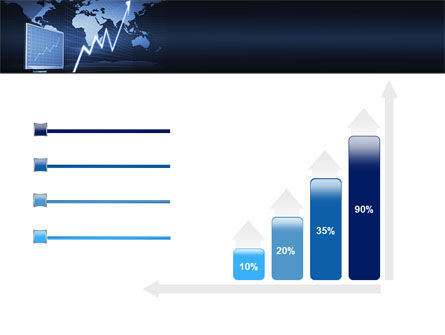 Stock Market Jumping Rate PowerPoint Template Slide 8