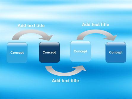 Blue Surface PowerPoint Template, Slide 4, 05885, Nature & Environment — PoweredTemplate.com
