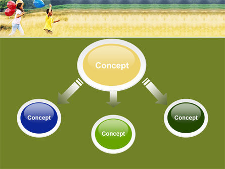 Outdoor Play PowerPoint Template, Slide 4, 05889, People — PoweredTemplate.com