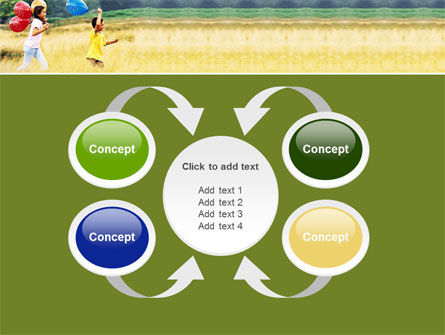 Outdoor Play PowerPoint Template Slide 6