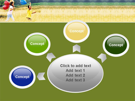 Outdoor Play PowerPoint Template Slide 7