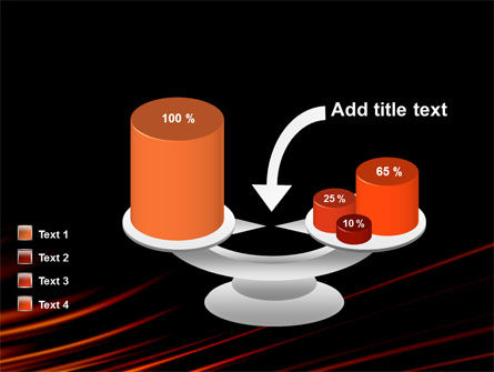 Fire Lines PowerPoint Template Slide 10
