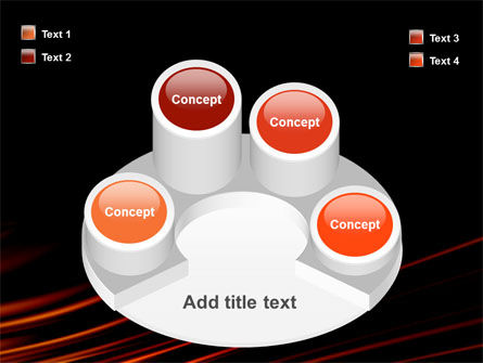 Fire Lines PowerPoint Template Slide 12