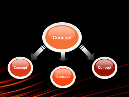 Fire Lines PowerPoint Template Slide 4