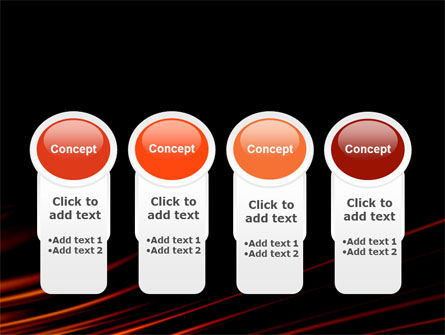 Fire Lines PowerPoint Template Slide 5