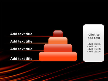 Fire Lines PowerPoint Template Slide 8