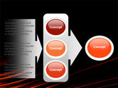 Fire Lines PowerPoint Template#11