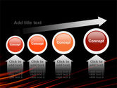 Fire Lines PowerPoint Template#13