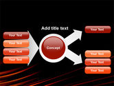 Fire Lines PowerPoint Template#14
