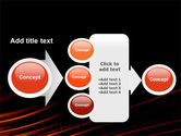 Fire Lines PowerPoint Template#16