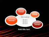 Fire Lines PowerPoint Template#18