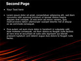 Fire Lines PowerPoint Template#2