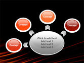Fire Lines PowerPoint Template#7