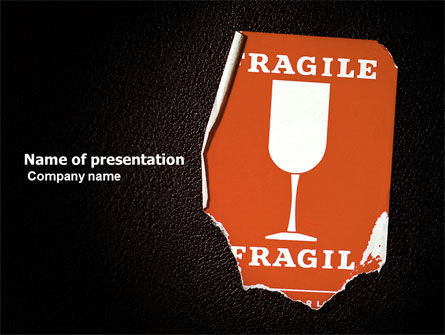 Fragile Packaging PowerPoint Template