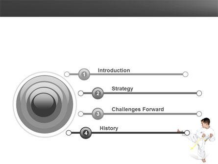 Karate Kid PowerPoint Template Slide 3