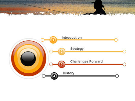 Fishing PowerPoint Template, Slide 3, 05893, Sports — PoweredTemplate.com