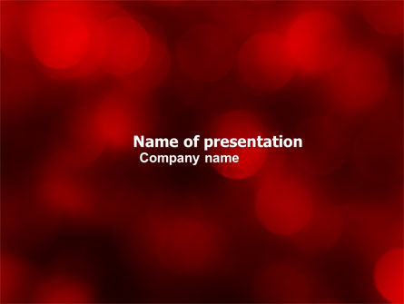 Abstract/Textures: Abstract Lights PowerPoint Template #05894