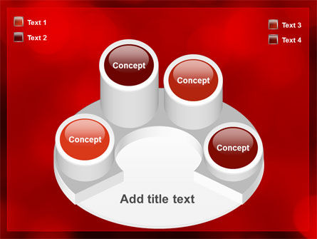 Abstract Lights PowerPoint Template Slide 12