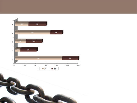Steel Chains PowerPoint Template Slide 11